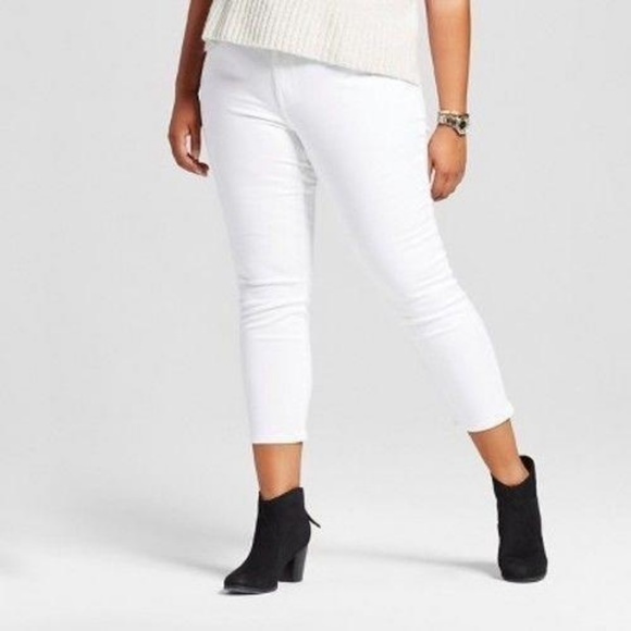 aee9ee486b774 Ava & Viv Jeans | New Ava Viv White Power Stretch Jeggings 24 | Poshmark